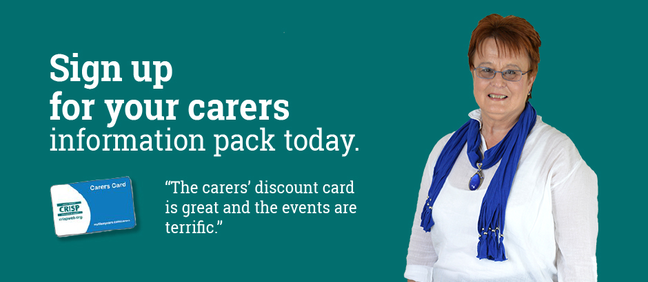 Sign Up For Carers Pack