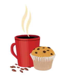 Image result for tea coffee cake clipart